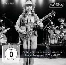 Dickey Betts: Live At Rockpalast 1978 And 2008, 3 CDs und 2 DVDs