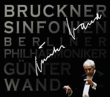 Anton Bruckner (1824-1896): Symphonien Nr.4,5,7-9, 6 CDs