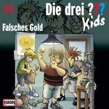Die drei ??? Kids 34: Falsches Gold, CD