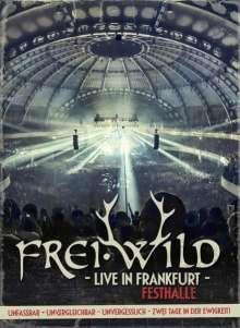 Frei.Wild: Live in Frankfurt - Festhalle 2013 (2CDs + 2 DVDs), 2 CDs und 2 DVDs