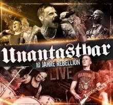 Unantastbar: 10 Jahre Rebellion - Live (2CD + DVD), 2 CDs und 1 DVD