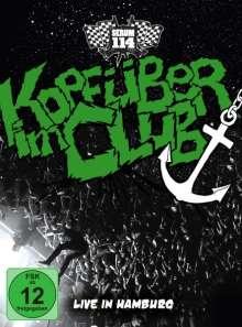 Serum 114: Kopfüber im Club: Live in Hamburg, 2 CDs und 1 DVD