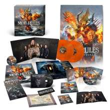 Mob Rules: Beast Reborn (180g) (Limited-Edition-Box-Set) (Orange Marbled Vinyl), 4 LPs