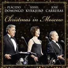 Christmas in Moscow - Placido Domingo, Sissel Kyrkjebo, Jose Carreras, CD