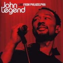 John Legend: Live From Philadelphia 2007, CD