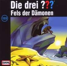 Die drei ??? (Folge 133) - Fels der Dämonen, CD