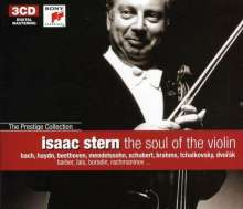 Isaac Stern - The Soul of the Violin, 3 CDs