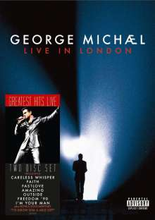 George Michael: Live In London 2008, 2 DVDs