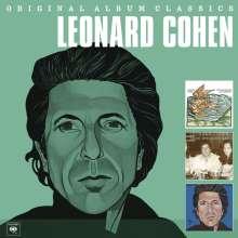 Leonard Cohen (1934-2016): Original Album Classics, 3 CDs