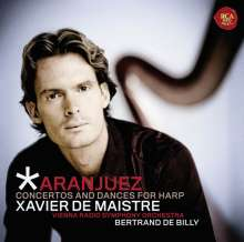 Xavier de Maistre - Concertos and Dances for Harp, CD