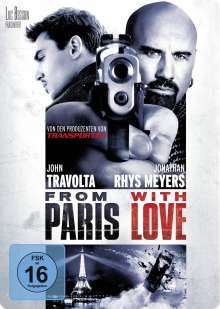 From Paris With Love, DVD