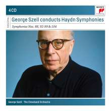 Joseph Haydn (1732-1809): George Szell dirigiert Haydn-Symphonien, 4 CDs