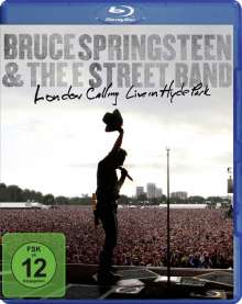 Bruce Springsteen: London Calling: Live In Hyde Park 28.6.2009, Blu-ray Disc