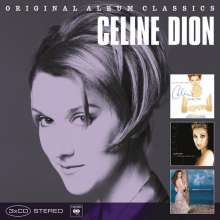 Celine Dion: Original Album Classics, 3 CDs