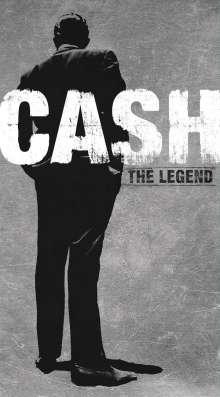 Johnny Cash: The Legend, 4 CDs und 1 Buch