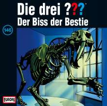 Die drei ??? (Folge 146) - Der Biss der Bestie, CD