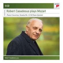 Robert Casadesus plays Mozart, 5 CDs