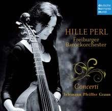 Hille Perl - Gambenkonzerte, CD