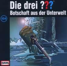 Die drei ??? (Folge 154) - Botschaft aus der Unterwelt, CD