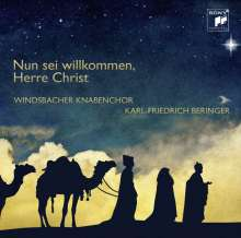 Windsbacher Knabenchor - Nun sei willkommen,Herre Christ, CD