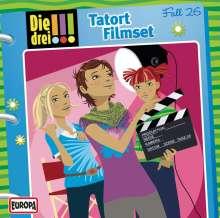 Die drei !!! Fall 26 - Tatort Filmset, CD