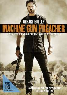 Machine Gun Preacher, DVD