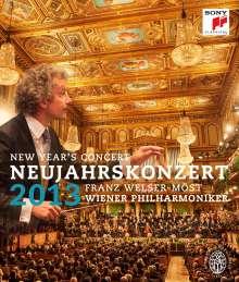 Neujahrskonzert 2013 der Wiener Philharmoniker, Blu-ray Disc