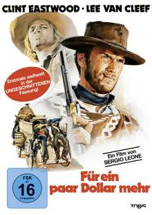 Für ein paar Dollar mehr - Ungeschnittene Fassung, DVD