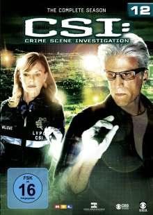 CSI Las Vegas Season 12, 6 DVDs