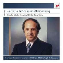 Arnold Schönberg (1874-1951): Pierre Boulez conducts Arnold Schönberg, 11 CDs