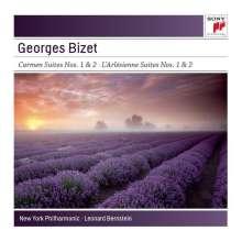 Georges Bizet (1838-1875): L'Arlesienne-Suiten Nr.1 & 2, CD