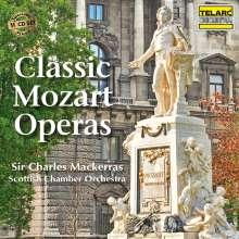 Wolfgang Amadeus Mozart (1756-1791): Charles Mackerras dirigiert 3 Mozart-Opern, 11 CDs