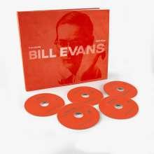 Bill Evans (Piano) (1929-1980): Everybody Still Digs Bill Evans: A Career Retrospective 1956 - 1980 (Limited Edition), 5 CDs und 1 Buch