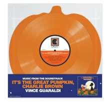 Vince Guaraldi (1928-1976): Filmmusik: It's The Great Pumpkin, Charlie Brown (Limited Edition) (Orange Pumpkin Shaped Vinyl) (45 RPM), LP