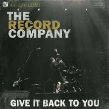 The Record Company: Give It Back To You, CD