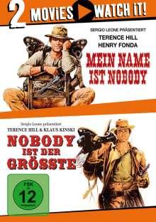 Mein Name ist Nobody / Nobody ist der Größte, 2 DVDs