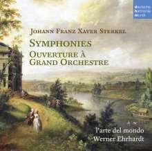 Johann Franz Xaver Sterkel (1750-1817): Symphonien op.35 Nr.1 D-Dur & Nr.2 B-Dur, CD