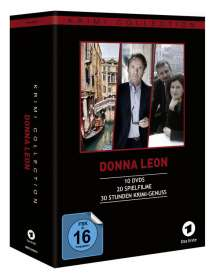 Donna Leon Collection (20 Filme auf 10 DVDs), 10 DVDs
