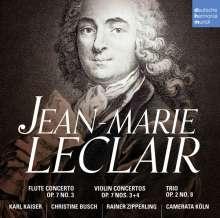 Jean Marie Leclair (1697-1764): Violinkonzerte op.7 Nr.4 & 5, CD