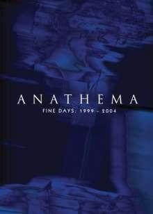 Anathema: Fine Days 1999 - 2004, 3 CDs und 1 DVD