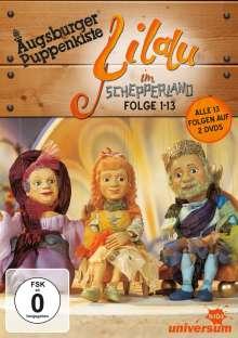 Augsburger Puppenkiste: Lilalu im Schepperland (Komplette Serie), 3 DVDs