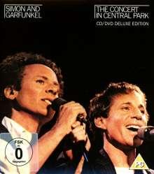 Simon & Garfunkel: The Concert In Central Park (Deluxe Edition), 1 CD und 1 DVD