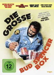 Die grosse Bud Spencer-Box, 4 DVDs