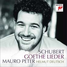 Franz Schubert (1797-1828): Lieder nach Goethe, CD