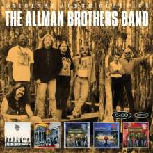 The Allman Brothers Band: Original Album Classics, 5 CDs