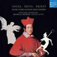 Angel, Devil, Priest - Violinkonzerte von Leclair, Locatelli, Vivaldi, CD