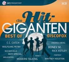 Die Hit-Giganten: Best Of Discofox, 3 CDs