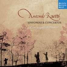 Antonio Rosetti (1750-1792): Symphonien C-Dur, F-Dur, g-moll (Murray A3, A35, A41), CD