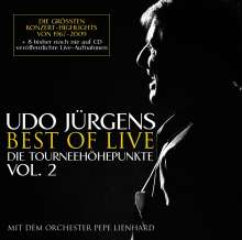 Udo Jürgens: Best Of Live - die Tourneehöhepunkte Vol. 2, 2 CDs