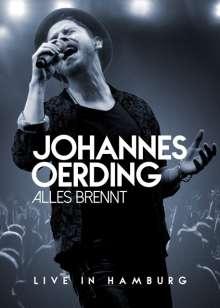 Johannes Oerding: Alles brennt: Live in Hamburg, DVD
